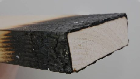 Антипирены для обработки древесины
