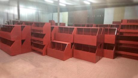 Ящики для песка пожарные