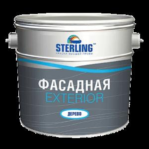 Экстериор (ВД-АК-112) - краска для деревянных поверхностей