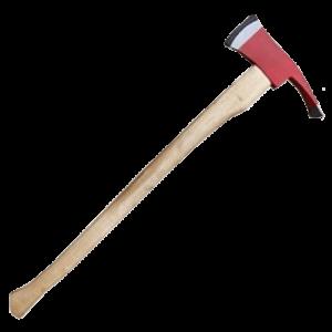 Топор-мотыга с деревянной ручкой